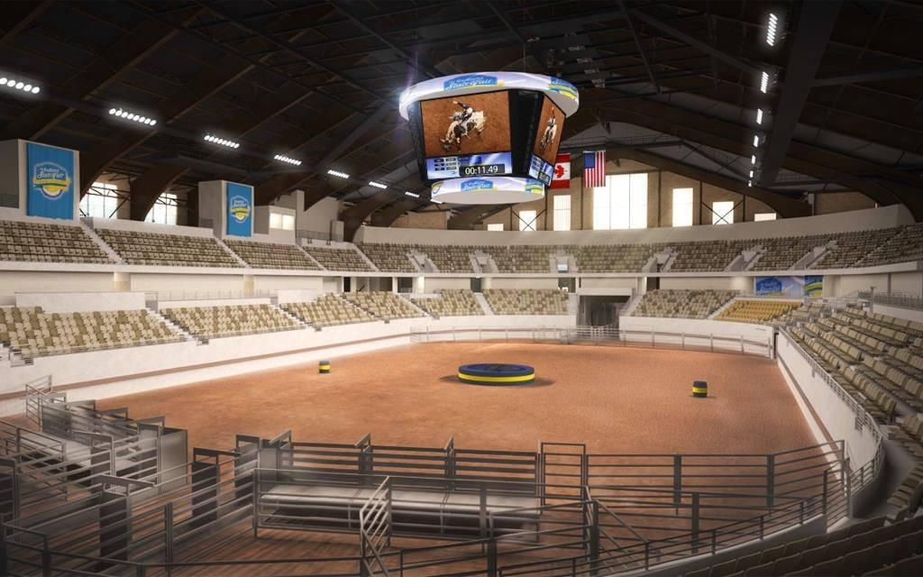 New Coliseum!